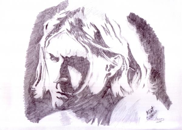 Kurt Cobain par nelotigra